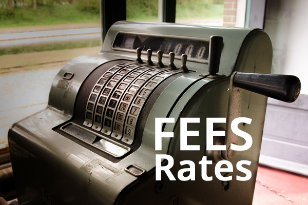 fees rates