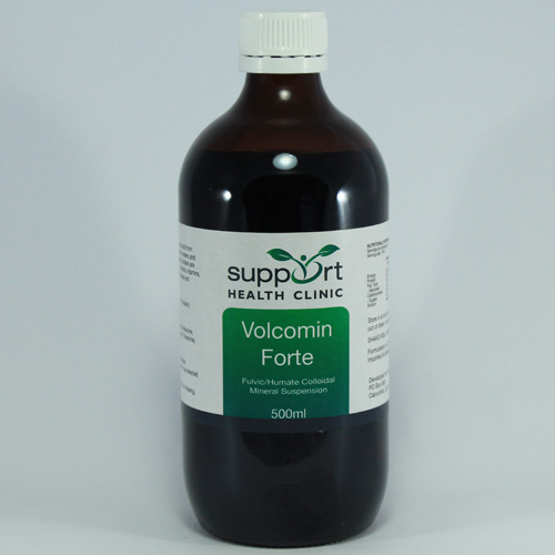 volcanic minerals with fulvic acid