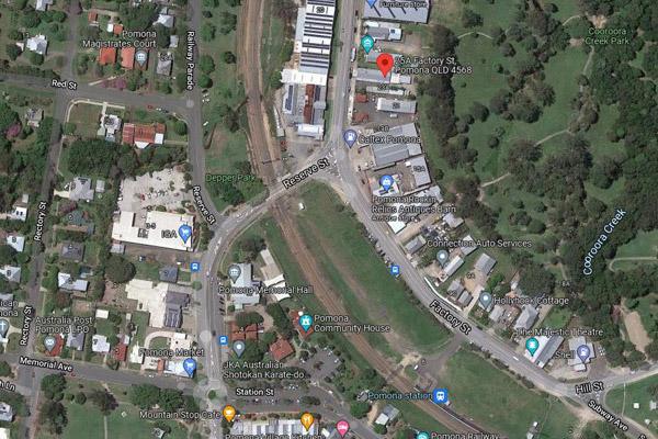 pomona satellite view
